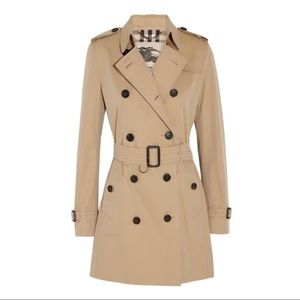 Burberry heritage Kensington honey trench coat